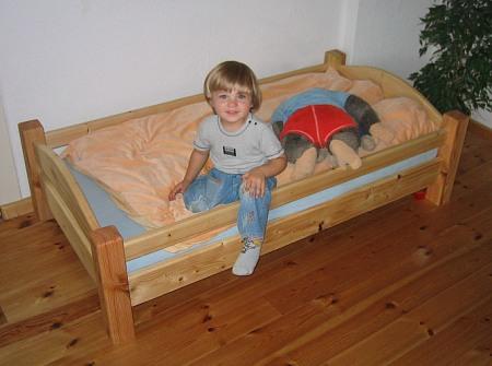 Foto des Kinderbetts
