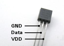 DS18S20 Temperatursensor